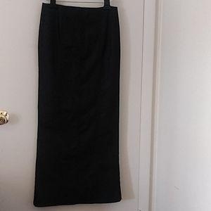 Guess Collection Maxi  Skirt Back Slit Back Zipper